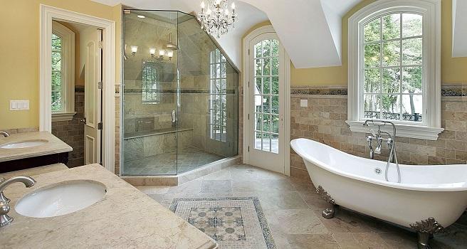 wyjątkowe kabiny prysznicowe wykonane ze szkła